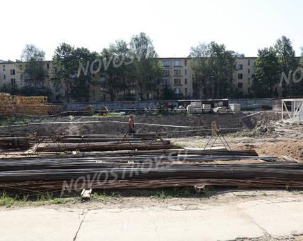 Место строительства ЖК «Александрийский» (09.08.2014), Сентябрь 2014