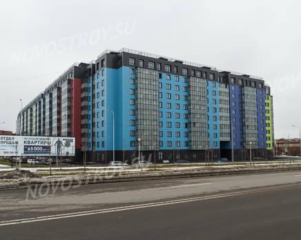 ЖК «Самое сердце»: вид на комплекс с ул. Архитектора Данини(фото 1) 27.02.2015, Март 2015