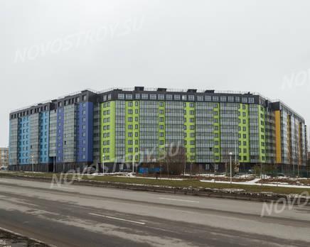 ЖК «Самое сердце»: вид на комплекс с ул. Архитектора Данини(фото 2) 27.02.2015, Март 2015