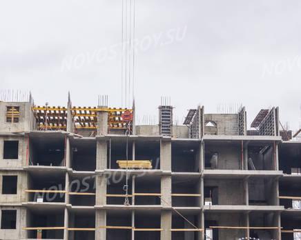 ЖК «на ул. Кирова, 6 (г. Шлиссельбург)»: возведение этажей (17.09.15), Сентябрь 2015