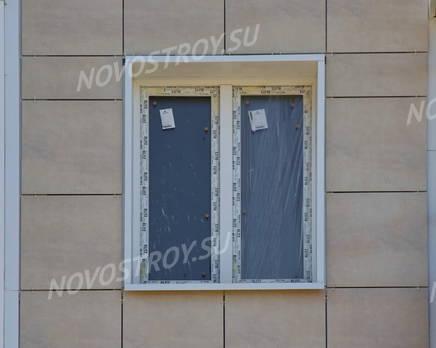 ЖК «Паркола»: фасад. 11.09.2015., Сентябрь 2015