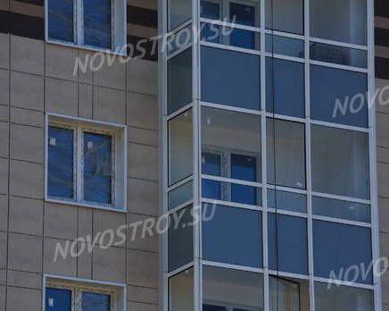 ЖК «Паркола»: фасад. 11.09.2015, Сентябрь 2015