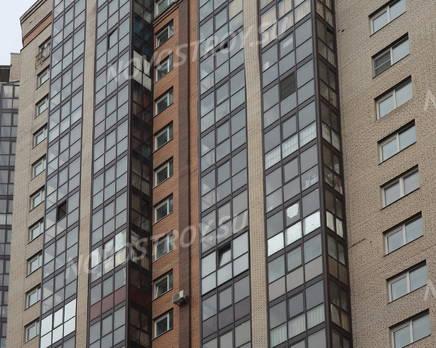 ЖК «Дом на Коломяжском, 15-1»: фасад (10.02.2016), Март 2016