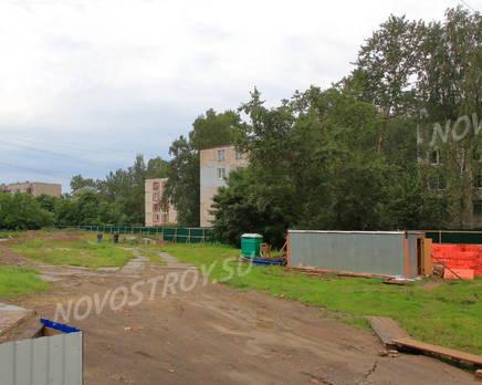 ЖК «Дом на улице Красных Партизан»: строительная площадка., Июль 2016