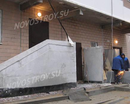 ЖК «Каменка»: ход строительства корпуса 7 из группы Вконтакте, Январь 2017