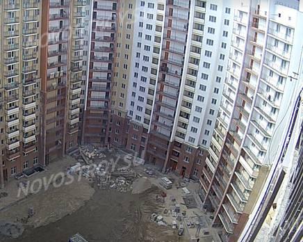 ЖК «Кристалл Полюстрово»: ход строительства, Май 2017