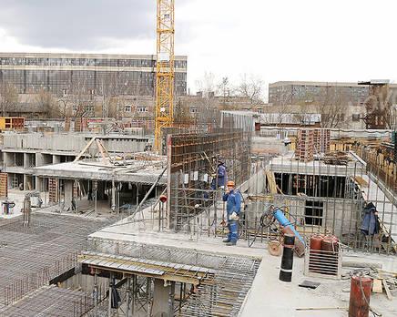 ЖК «на улице Гагарина, 23А»: ход строительства, Октябрь 2017