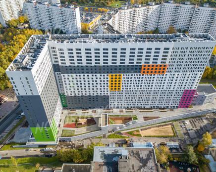 ЖК «Маршала Захарова 7»: ход строительства, Ноябрь 2017