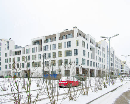 ЖК «Загородный квартал»: ход строительства дома №17, Декабрь 2017