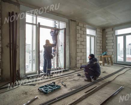 МФК «Клубный дом на Сретенке»: ход строительства, Февраль 2018