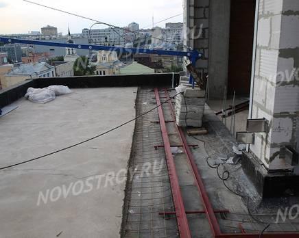 МФК «Loftec»: ход строительства, Июль 2018