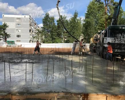 ЖК в Привокзальном переулке: ход строительства, Август 2018