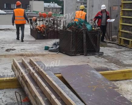 ЖК «Звезда Томилино»: ход строительства, Август 2018
