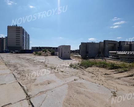 ЖК «Аннинский парк»: ход строительства корпуса №5, Август 2018