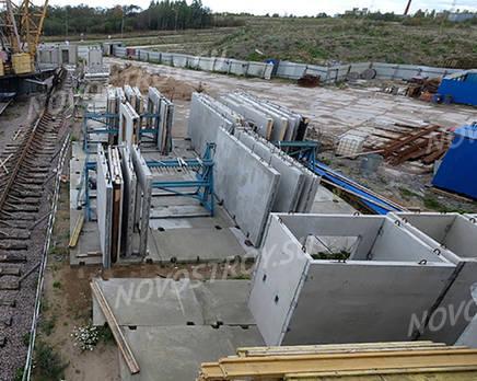 ЖК «Аннинский парк»: ход строительства 3 очереди, Октябрь 2018
