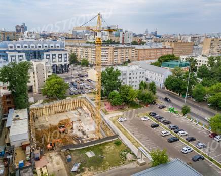 МФК «Maison Rouge»: ход строительства, Октябрь 2018
