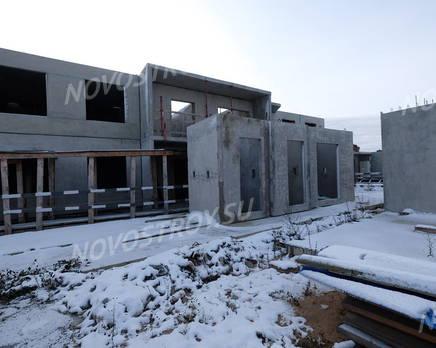 ЖК «Аннинский парк»: ход строительства корпуса №5, Ноябрь 2018