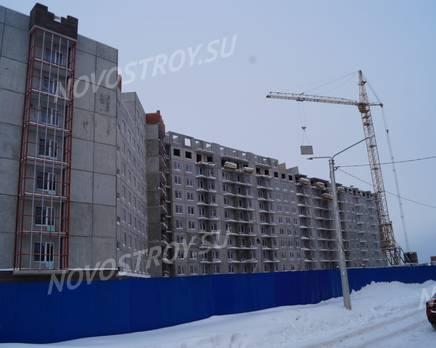 ЖК «ТриДевяткино царство»: ход строительства корпуса №9, Февраль 2019
