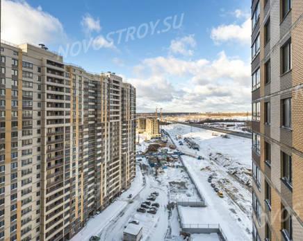 ЖК ЦДС «Весна-3»: ход строительства корпуса №2, Март 2019