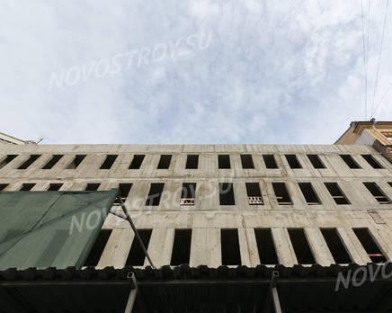 МФК «Лиговский проспект, д. 56»: ход строительства (апрель 2019), Апрель 2019