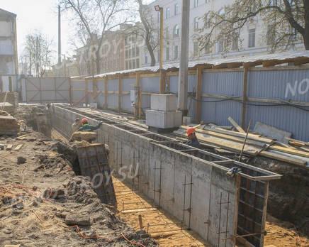 ЖК «Маленькая Франция»: ход строительства, Май 2019