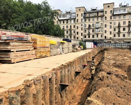 ЖК Vitality: ход строительства, Июнь 2019