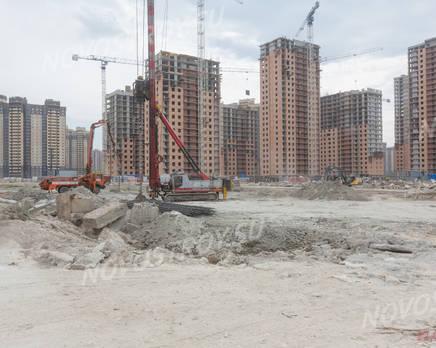 ЖК «Северная долина»: ход строительства квартала №21, Июль 2019