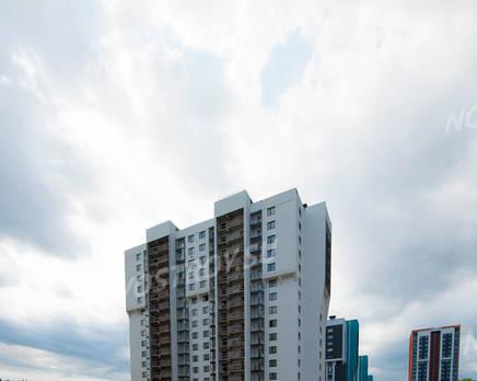 ЖК «Шуваловский»: ход строительства дома №15, Июль 2019