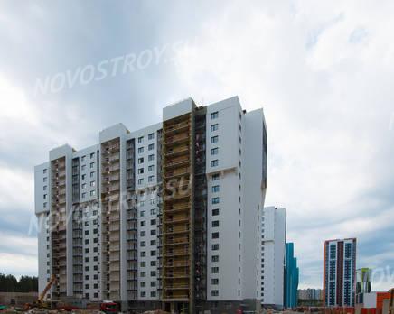 ЖК «Шуваловский»: ход строительства дома №16, Июль 2019