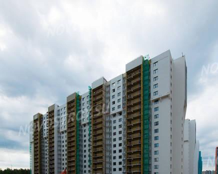 ЖК «Шуваловский»: ход строительства дома №17, Июль 2019