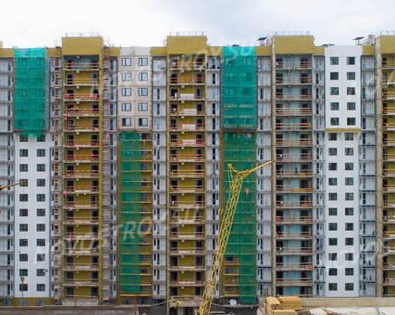 ЖК «Шуваловский»: ход строительства дома №18, Июль 2019