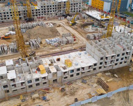 ЖК «Шуваловский»: ход строительства дома №21, Июль 2019