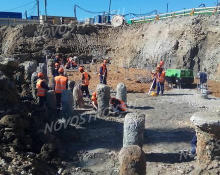 ЖК «Триумф Парк»: ход строительства 6 очереди, Июль 2019
