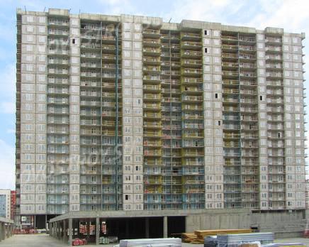 ЖК «Огни залива»: ход строительства корпуса №14, Июль 2019