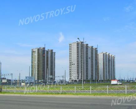 ЖК «Огни залива»: ход строительства корпуса №14,15, Июль 2019