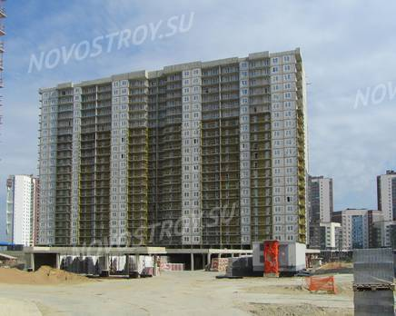ЖК «Огни залива»: ход строительства корпуса №15, Июль 2019