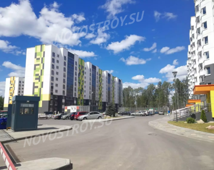 ЖК «Белорусский квартал» (Обнинск): ход строительства 29.06.18, Июль 2019