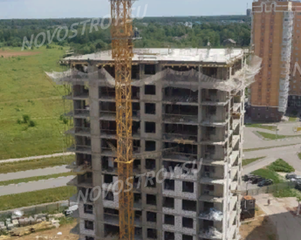 ЖК «Просто космос»: ход строительства, Июль 2019
