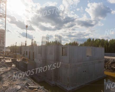 ЖК «Северная долина»: ход строительства квартала №21, Август 2019