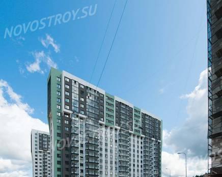ЖК «Шуваловский»: ход строительства дома №16, Август 2019