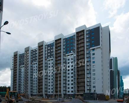 ЖК «Шуваловский»: ход строительства дома №17, Август 2019