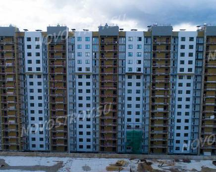 ЖК «Шуваловский»: ход строительства дома №18, Август 2019
