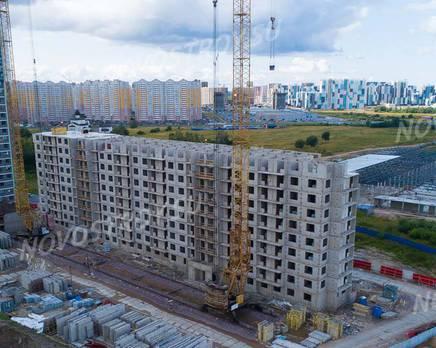 ЖК «Шуваловский»: ход строительства дома №21, Август 2019