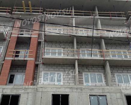 ЖК «Днепропетровская 37»: ход строительства, Август 2019