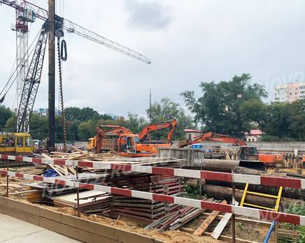ЖК «Vitality»: ход строительства, Август 2019