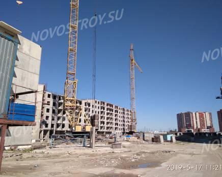 ЖК «ТриДевяткино царство»: ход строительства корпуса №10, май 2019, Август 2019