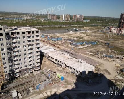 ЖК «ТриДевяткино царство»: ход строительства корпуса №11, май 2019, Август 2019
