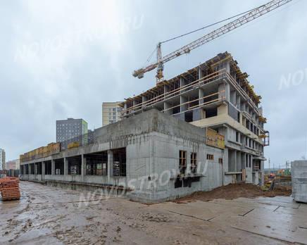 ЖК «Новое Медведково»: ход строительства корпуса №20, Август 2019