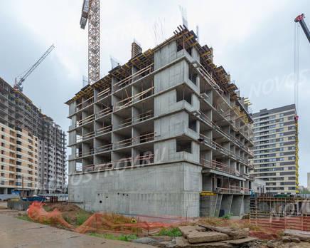 ЖК «Новое Медведково»: ход строительства корпуса №21, Август 2019