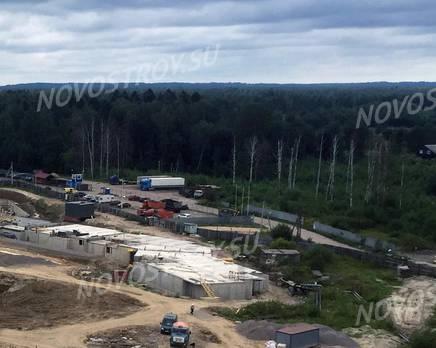 ЖК «Гамма»: ход строительства, Август 2019
